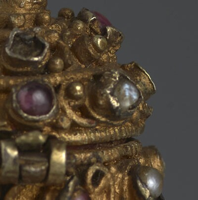 Reliquary with Rock-Crystal Vessel